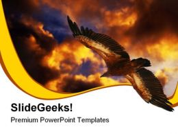 Eagle Griffon Animals PowerPoint Templates And PowerPoint Backgrounds 0611