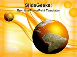 Earth Background PowerPoint Templates And PowerPoint Backgrounds 0411