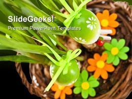 Easter Eggs Christmas PowerPoint Templates And PowerPoint Backgrounds 0111