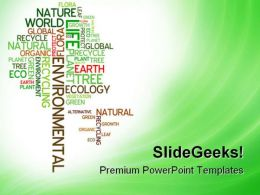 Ecology Environmental Nature PowerPoint Templates And PowerPoint Backgrounds 0811