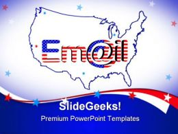 Email America Internet PowerPoint Templates And PowerPoint Backgrounds 0711