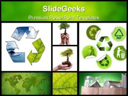 Environmental Collage Nature PowerPoint Backgrounds And Templates 1210