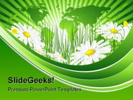 Environmental Concept Nature PowerPoint Template 1010