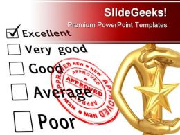 Excellent Business PowerPoint Template 0910