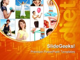 Exercise Health PowerPoint Templates And PowerPoint Backgrounds 0811