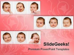 Expressions Children PowerPoint Templates And PowerPoint Backgrounds 0611