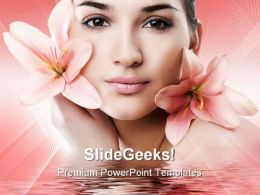 Face Care Beauty PowerPoint Templates And PowerPoint Backgrounds 0311
