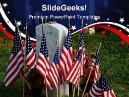 Fallen Americana PowerPoint Backgrounds And Templates 1210