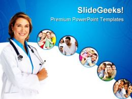 Family Doctor Medical PowerPoint Templates And PowerPoint Backgrounds 0311