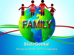 Family World Global PowerPoint Templates And PowerPoint Backgrounds 0511