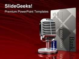 Finacial Talk Business PowerPoint Templates And PowerPoint Backgrounds 0611