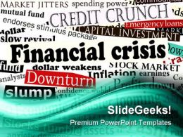 Financial Crisis01 Finance PowerPoint Templates And PowerPoint Backgrounds 0511