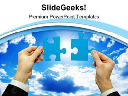 Find A Solution Business PowerPoint Templates And PowerPoint Backgrounds 0711
