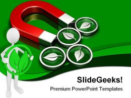 Finding Green Symbol Environment PowerPoint Templates And PowerPoint Backgrounds 0611