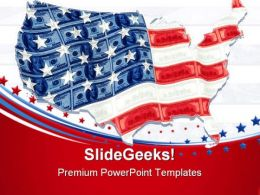 Flagcash Americana PowerPoint Templates And PowerPoint Backgrounds 0711