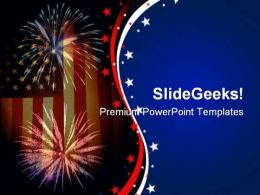 Flagworks Americana PowerPoint Templates And PowerPoint Backgrounds 0611