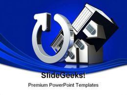 Flipping Houses Real Estate PowerPoint Backgrounds And Templates 1210