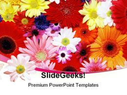 Flower Nature PowerPoint Templates And PowerPoint Backgrounds 0511