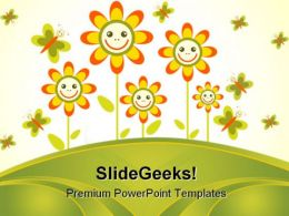 Flowers Frame Beauty PowerPoint Templates And PowerPoint Backgrounds 0511