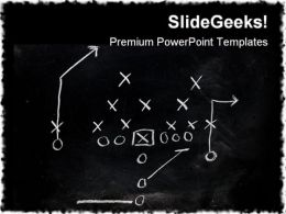 Foot Ball X S Game PowerPoint Templates And PowerPoint Backgrounds 0311