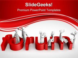 Forum Discussion Concept Metaphor PowerPoint Templates And PowerPoint Backgrounds 0511
