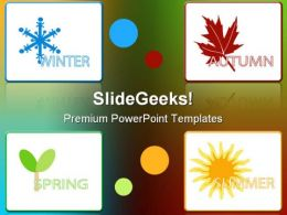 Four Seasons01 Nature PowerPoint Templates And PowerPoint Backgrounds 0611