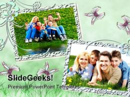 Frame Family PowerPoint Template 1110