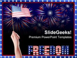 Freedom Americana PowerPoint Templates And PowerPoint Backgrounds 0711