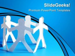 Friendship People Global PowerPoint Templates And PowerPoint Backgrounds 0611