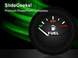 Fuel Gauge Industrial PowerPoint Templates And PowerPoint Backgrounds 0311