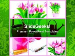 Gardening Nature PowerPoint Templates And PowerPoint Backgrounds 0911
