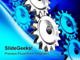 Gears01 Industrial PowerPoint Templates And PowerPoint Backgrounds 0311