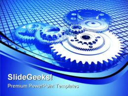 Gears01 Industrial PowerPoint Templates And PowerPoint Backgrounds 0511