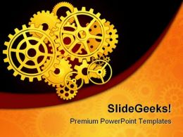 Gears02 Industrial PowerPoint Templates And PowerPoint Backgrounds 0511