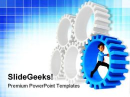 Gears02 Industrial PowerPoint Templates And PowerPoint Backgrounds 0611