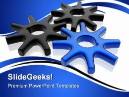 Gears Business Industrial PowerPoint Templates And PowerPoint Backgrounds 0611