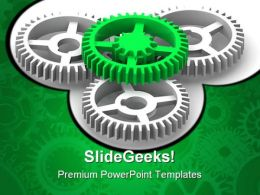 Gears Industrial PowerPoint Templates And PowerPoint Backgrounds 0711