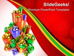 Gifts Festival PowerPoint Templates And PowerPoint Backgrounds 0511
