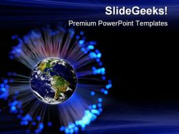 Global01 Communication PowerPoint Templates And PowerPoint Backgrounds 0611