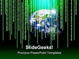 Global02 Communication PowerPoint Templates And PowerPoint Backgrounds 0611