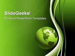 Global Abstract Background PowerPoint Templates And PowerPoint Backgrounds 0611