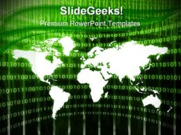Global Abstract Business PowerPoint Templates And PowerPoint Backgrounds 0311