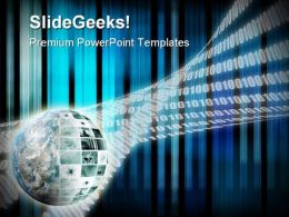 Global Business Abstract PowerPoint Templates And PowerPoint Backgrounds 0311