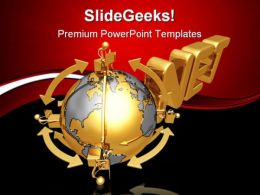 Global Business Internet PowerPoint Templates And PowerPoint Backgrounds 0711
