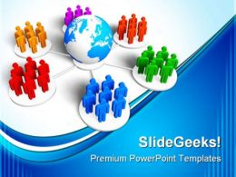Global Communication Business PowerPoint Templates And PowerPoint Backgrounds 0311