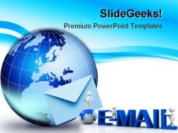 Global Communication Internet PowerPoint Templates And PowerPoint Backgrounds 0211