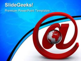 Global Communications Internet PowerPoint Templates And PowerPoint Backgrounds 0411