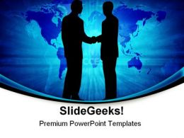 Global Cooperation Business PowerPoint Templates And PowerPoint Backgrounds 0511