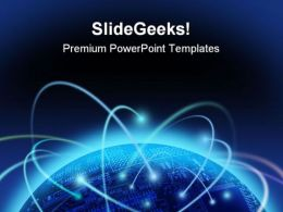 Global Information Technology PowerPoint Templates And PowerPoint Backgrounds 0611