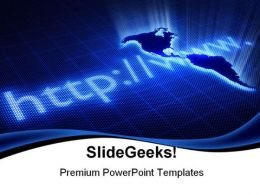 Global Internet PowerPoint Backgrounds And Templates 1210